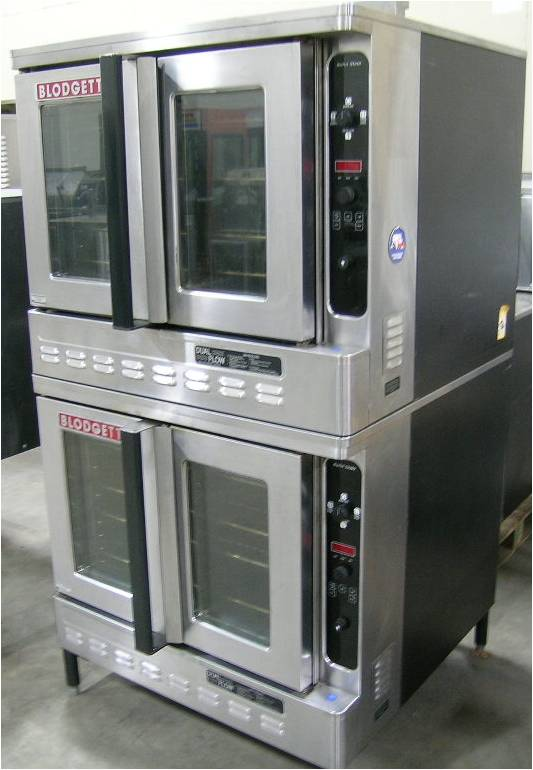 Blodgett DFG-100 Double-deck Convection Oven, Gas